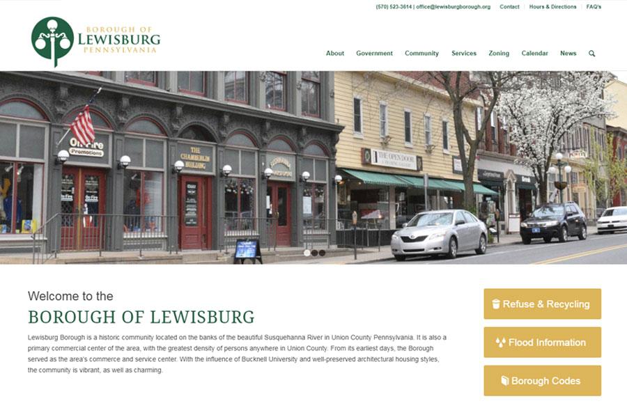 Lewisburg Borough After